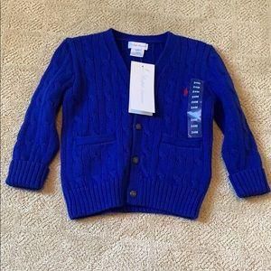 Ralph Lauren Button Down Sweater